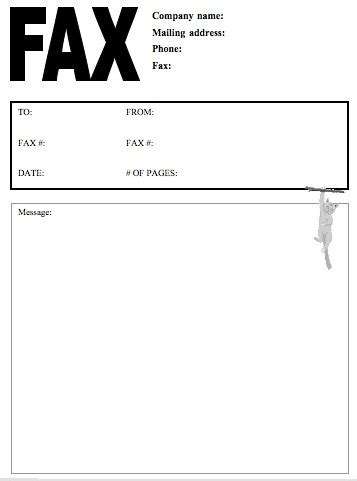 Printable fax cover letter pdf cover letter resume blank fax cover letter pdf spiritdancerdesigns Image collections