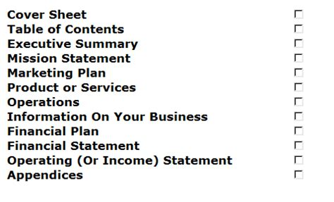 Sample Retail Business Plan Template
